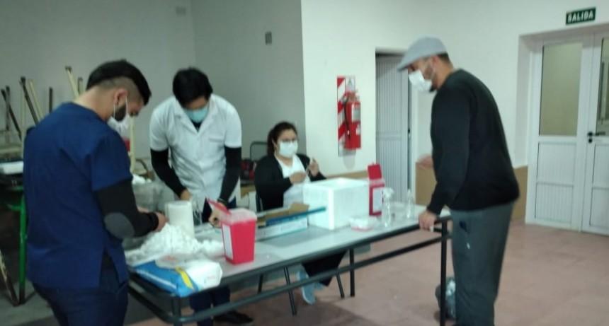 Federal : Durante esta semana, en todo el Departamento Federal se inmunizaron  1600 personas