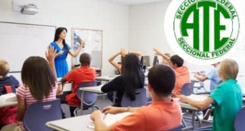 Federal : Ate retoma  las Clases de apoyo escolar y tutoría,  para estudiantes de primaria y nivel inicial secundario.