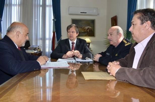 Felipe Torres se reunión con el Ministro Adan Bahl