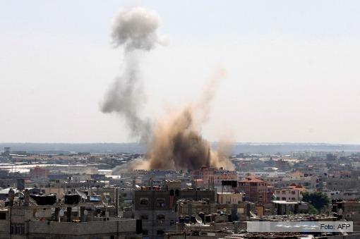 Israel atacó 30 blancos luego de recibir 60 cohetes desde Gaza