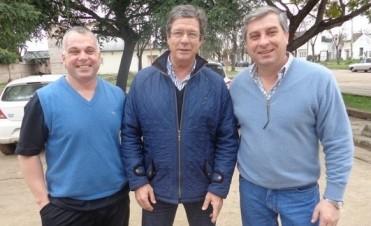 Hugo Cettour, ministro de Salud  visitó Federal