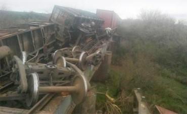 Tren de Carga descarriló cerca de Basavilbaso