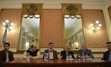 El ministro Bahl se reunió con la Federación Económica de E. Ríos