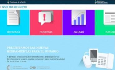 Está la página web para que los usuarios reporten inconvenientes con la telefonía móvil