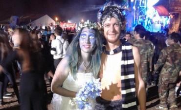 Más de 50 mil personas participaron en la Fiesta de Disfraces