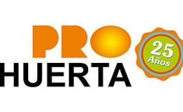 Charla con promotores voluntarios del Pro Huerta