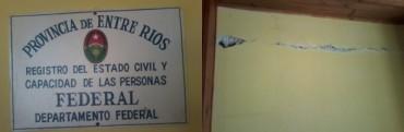 Preocupación por el estado de las dependencias del Registro Civil
