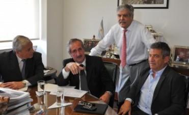 Urribarri gestionó obras para Concepción del Uruguay entre ellas cloacas