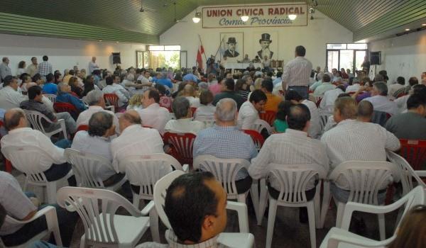 Este sábado en Villaguay Congreso del radicalismo entrerriano