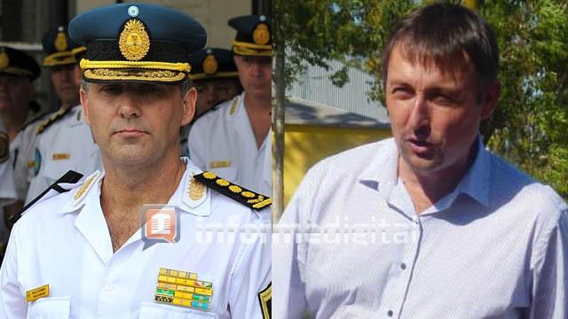 El jefe de la Policía de Entre Ríos desmintió al intendente de Basavilbaso
