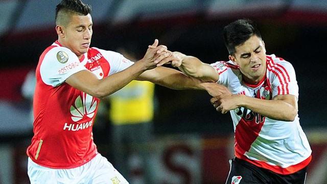 River empató sin goles ante Independiente Santa Fe y definirá la Recopa como local