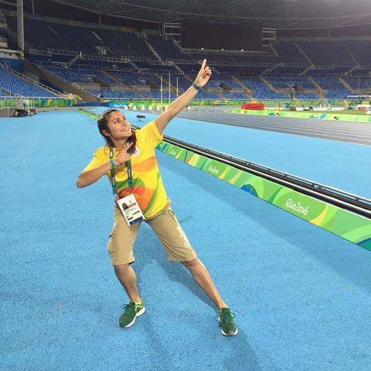 La federalense Virginia Cardozo participo como voluntaria en los Juegos Olímpicos