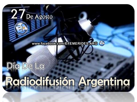Día de la Radiodifusión,