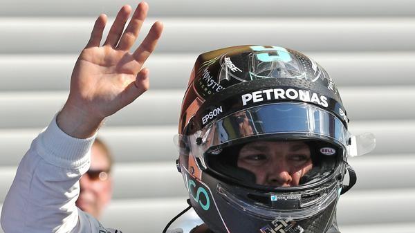 F1: Rosberg ganó en un accidentado GP de Bélgica