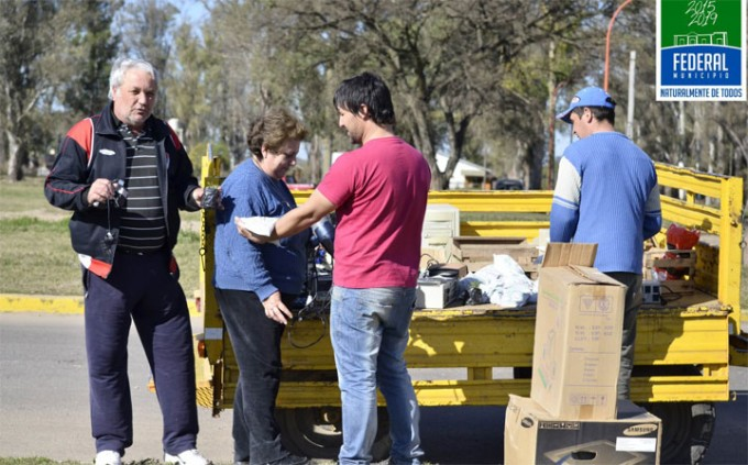 Este jueves Campaña de Recolección de Residuos Electrónicos y Eléctricos en Barrio El Silbido
