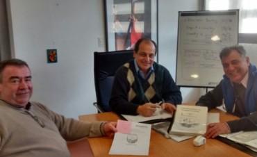 Reunión con el Coord.Gral. de la Secretaria de Inversión Publica y Desarrollo Territorial