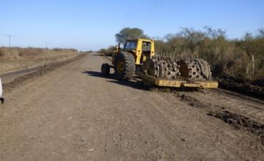 Trabajos en Ruta Provincial N 5