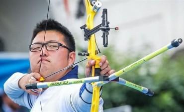 Primer récord del mundo en Río: Woojin Kim en arquería