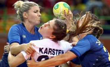 La Garra hizo su debut olímpico con una derrota ante Suecia