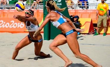 Río 2016: La entrerriana Ana Gallay y Georgina Klug, no pudieron ante Brasil