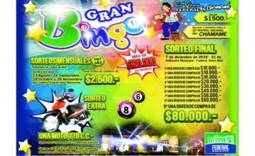 Sale a la venta el Gran Bingo del Festival