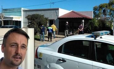 Atentado contra Hein: allanaron una casa en Basavilbaso