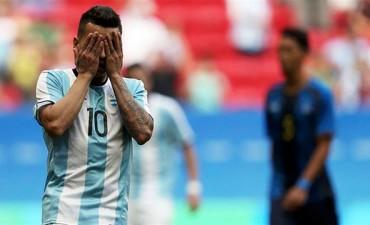 La Selección Argentina empató con Honduras y se despidió de los Juegos Olímpicos