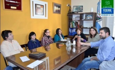 El Intendente se reunió con autoridades del C.G.E