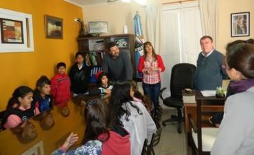 Reunión Institucional con alumnos de la Escuela Nina N 2