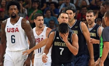 Argentina le puso fin a su Juego Olímpico y a la carrera de sus grandes ídolos