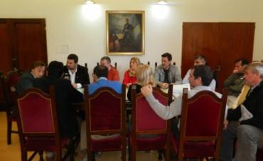 Federal rubrico convenios de producción con Parana y Gral.Ramirez