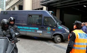 Trasladaron al Banco Central los nueve millones de dólares secuestrados a López