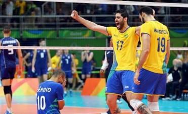 Voley masculino: Brasil venció a Italia y se quedó con la medalla de oro
