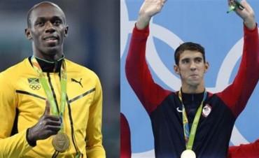Phelps y Bolt, entre los mitos griegos y el futuro de los Juegos