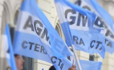 AGMER convocó al plenario de Secretarios Generales para el jueves 25 de agosto, en Tala.