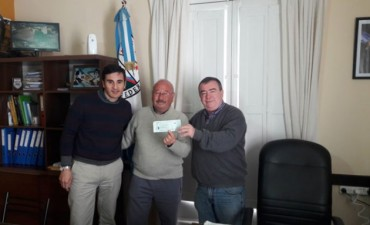 Nuevo aporte del Municipio a la Liga Federalense de Fútbol.