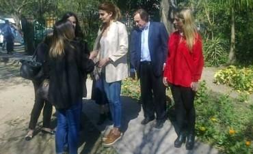 Awada pasó por Paraná y para evitar a la prensa dijo que no venía