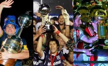 Todos los títulos internacionales de los equipos argentinos