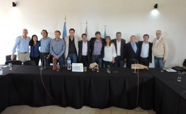 Se firmo el Convenio de conformación de la Micro -Región en Turismo