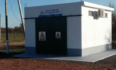 Se inaugura la sala de deposito transitorio de Residuos Patológicos y Especiales