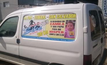 En reclamo por Camila unirán la Paz, Federal y San Salvador en bicicleta.