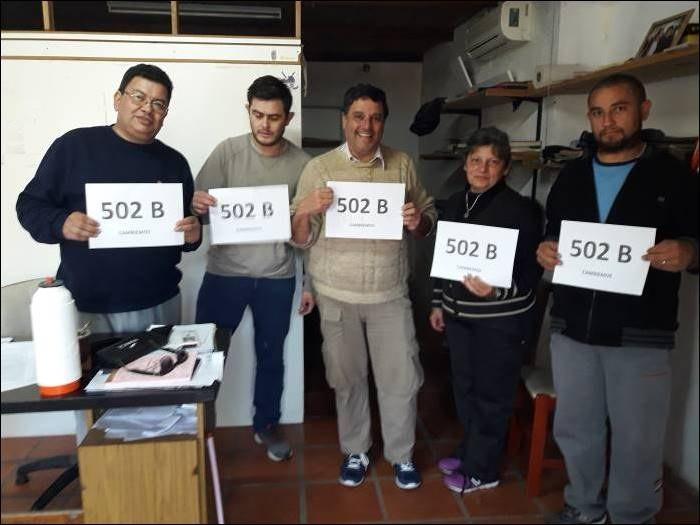 Radicales de Federal en plena campaña para la Lista 502 B que encabeza Gracia Jaroslavsky.