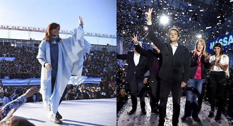 PASO: otra encuesta mas  muestra primera a Cristina y segundo a Massa