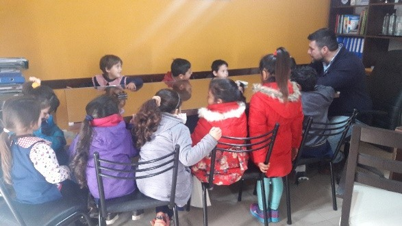 El intendente recibió Proyecto Ambiental de alumnos de Nivel Inicial