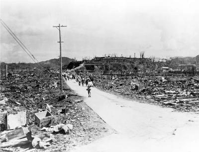 La bomba de Nagasaki