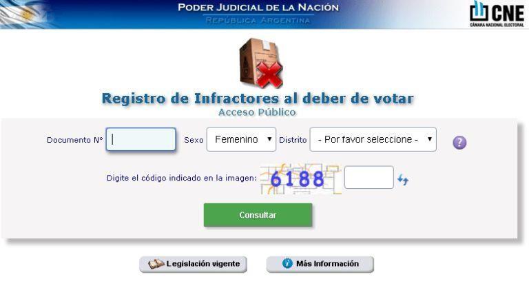 Para evitar colas: cómo justificar la no emisión del voto en internet
