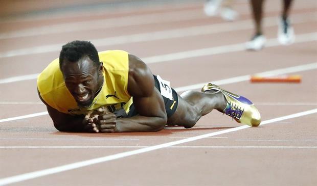 Mundial de atletismo. Del Bolt leyenda al Bolt terrenal: el traspaso que conmovió al mundo