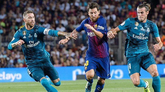 Messi anotó pero Barcelona no pudo ante Real Madrid en la ida de la Supercopa de España