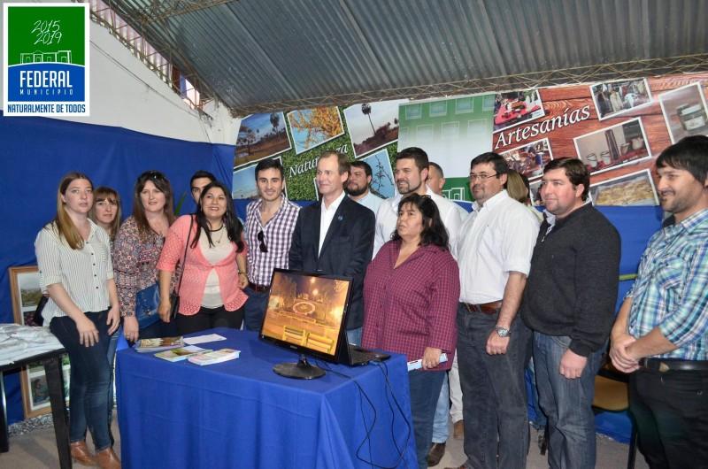 El Municipio acompaña la muestra anual de la sociedad rural de Federal