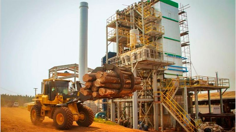 Se conectó a la red nacional proyecto que produce electricidad con biomasa